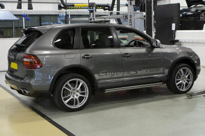 HighgateHouse Customer Car - Porsche Cayenne Transsyberia