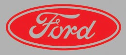 Ford Oval Decals from HighgateHouse