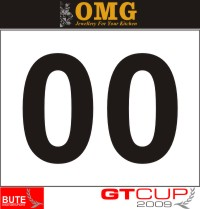 HighgateHouse Decals for Bute Motorsport GT Cup