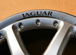 HighgateHouse Decals for Jaguar Wheels