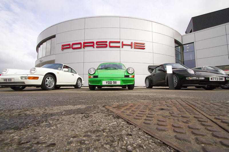 HighgateHouse Customer Car - Porsche Central Operations 911