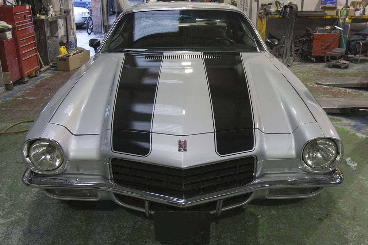 HighgateHouse Customer Car - Camaro