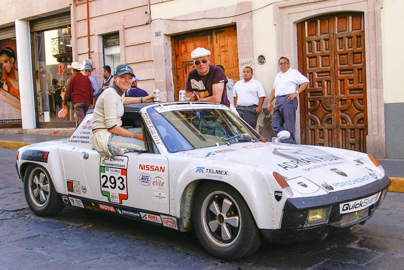 HighgateHouse Customer Car - Porsche 914 driven by Johnny Tipler & Sarah Bennett-Baggs on La Carrera Panamericana 2011