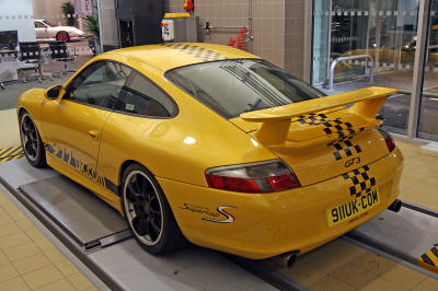 HighgateHouse Customer Car - Porsche 996 GT3 for Sundeep Nischal